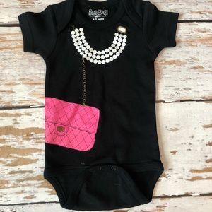 NWOT Sara Kety onesie size 6-12 month